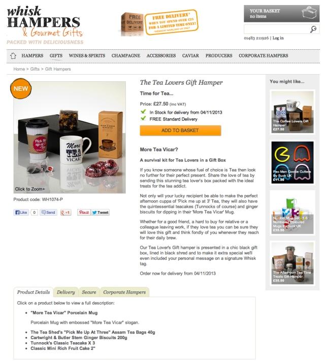 Whisk Tea Hamper